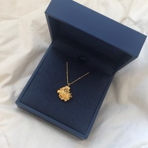NIB Missoma London Argonite Star Necklace (medium)